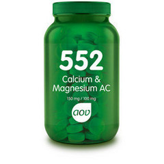 Aov Calcium & Magnesium Ac 150 Mg/100 Mg 552 (60Tab) DAV6019