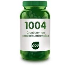 Aov Cranberry & Probioticum Complex 1004 (60Cap) DAV6036