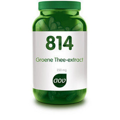 Aov Groene Thee Extract 250 Mg 814 (60Vcap) DAV6058