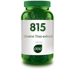 Aov Groene Thee Extract 250 Mg 815 (180Vcap) DAV6059