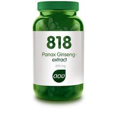 Aov Panax Ginseng Extract 450 Mg 818 (180Vcap) DAV6117