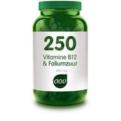 Aov Vitamine B12 & Foliumzuur 250 (60Cap) DAV6153