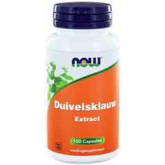 Now Duivelsklauw Extract (100Cap) DNW6038