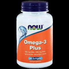 NOW Omega-3 Plus 360 mg EPA 240 mg DHA