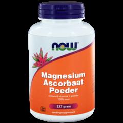 NOW Vitamin C-Pulver Magnesiumascorbat