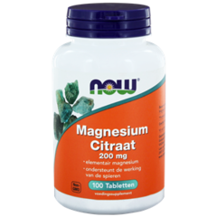 NOW Magnesiumcitrat 200 mg