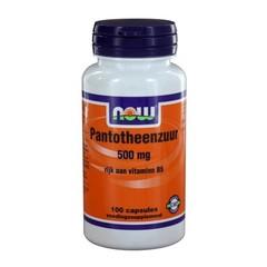 NOW Pantothensäure 500 mg (B5) (100 Kapseln)