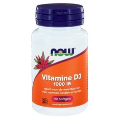 NOW Vitamin D3 1000IE