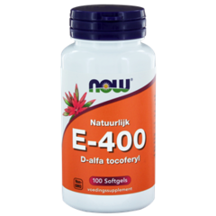 NOW Vitamin E-400-d-alpha-Tocopheryl