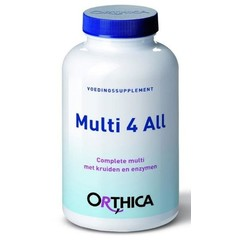 Orthica Multi 4 All (180Tab) DOA6077