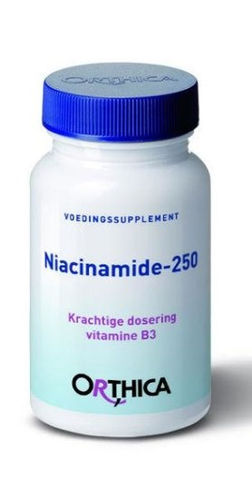 ORTHICA Orthica Vitamin B3-Niacinamid 250 (90 Tabletten)