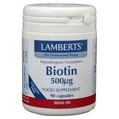 Lamberts Vitamin B8 500 mcg (Biotin)