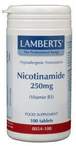 Lamberts Lamberts Vitamin B3 250 mg (Nicotinamid) (100 Tabletten)