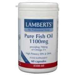 Lamberts Reines Fischöl 1100 mg Omega 3