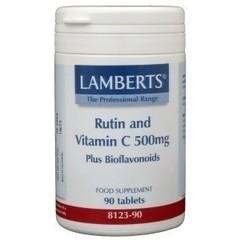 Lamberts Vitamin C 500 mg Rutin und Bioflavonoide