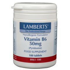 Lamberts Vit B6 50Mg /L8061-100 (100Tab) DLS6153