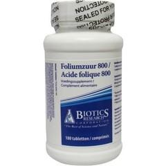 Biotics Folsäure 800 mcg