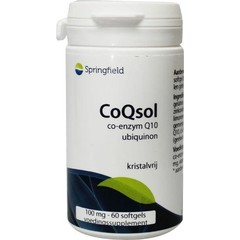 Springfield CoQsol Coenzym Q10 100 mg