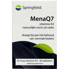 Springfield MenaQ7 Vitamin K2 45 mcg