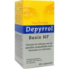 Timm Health Care Depyrrol Basis Nf (60Vc) DTE6006