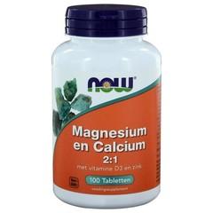 NOW Magnesium und Kalzium 2: 1