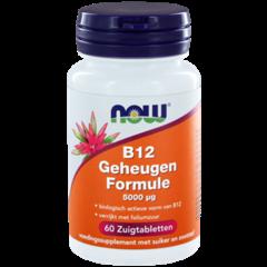 NOW Vitamin B12 Gedächtnisformel 5000 mcg