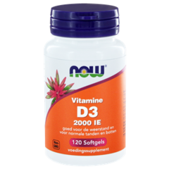 NOW Vitamin D3 2000IE