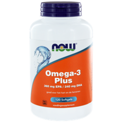 NOW Omega-3 Plus 360 mg EPA 240 mg DHA