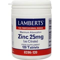 Lamberts Zinkcitrat 25 mg