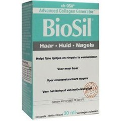 Biosil Huid Haar Nagels (30Ml) BIO7001