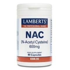 Lamberts Nac N Acetyl Cysteine /L8308-90 (90Cap) DLS6211