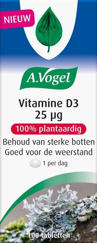 A Vogel A Vogel Vitamin D3 25ug (100 Tabletten)