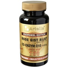 Artelle Roter Hefereis + Coenzym Q10 100 mg