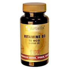 Artelle Vitamin D3 75 mcg