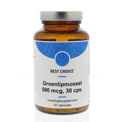 Best Choice Grünlippmuschel 500 mg