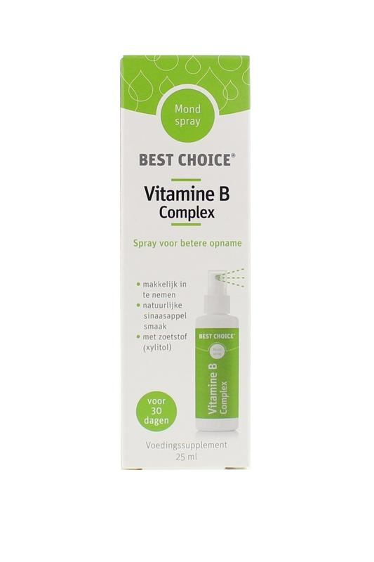 Best Choice Best Choice Vitamin-Spray-Vitamin-B-Komplex (25 ml)