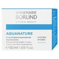 Annemarie Borlind Feuchtigkeitsspendende Nachtcreme Aquanature