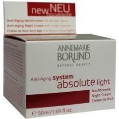 Annemarie Borlind System absolute Nachtcreme Licht