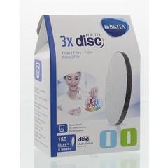 Brita Wasserfilter MicroDisc für Serve und Vital 3er Pack
