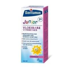 Davitamon Junior 1+ flüssige Vitamine Himbeere
