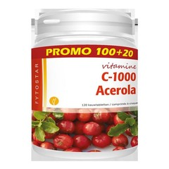 Fytostar Acerola Vitamin C 1000
