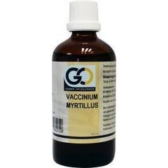 GO Vaccinium myrtillus
