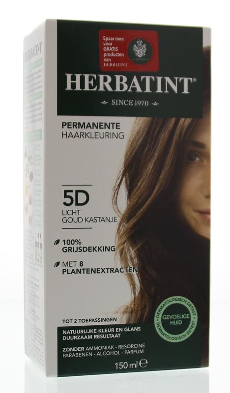 Herbatint Herbatint 5D Hellgoldkastanie (150 ml)