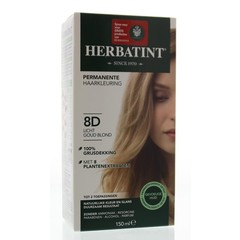 8D Hellgoldene Blondine