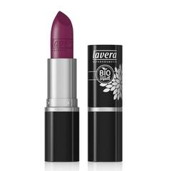 Lavera Lippenstiftfarbe intensiver violetter Stern 33