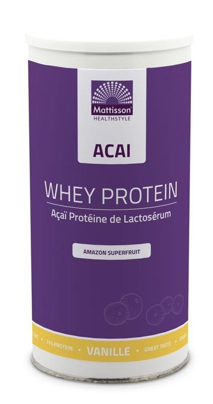 Mattisson Mattisson Absoluter Acai Protein Super Shake (450 Gramm)