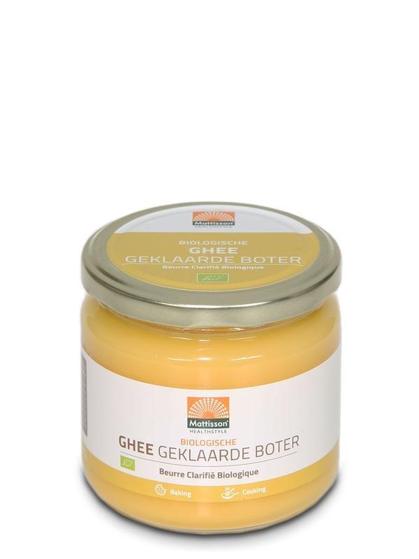 Mattisson Mattisson Absolute Ghee Butter klar biologisch (300 Gramm)
