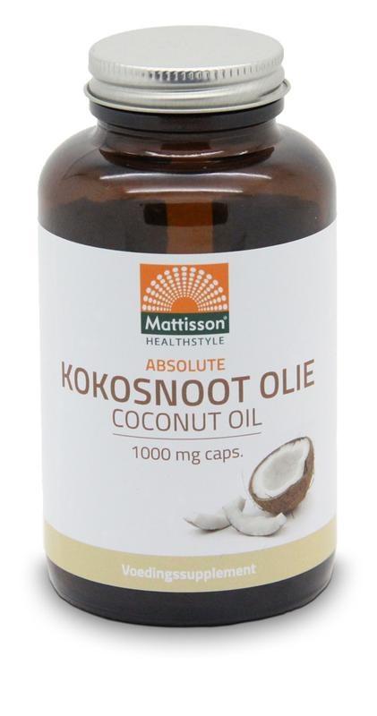 Mattisson Mattisson Absolutes Kokosnussöl 1000 mg (120 weiche Gele)