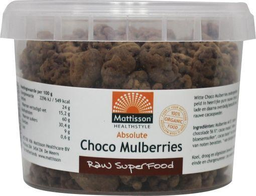 Mattisson Mattisson Absolute rohe Schoko-Maulbeeren organisch (150 g)