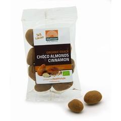Mattisson Mandeln Zimt Snack dunkle Schokolade